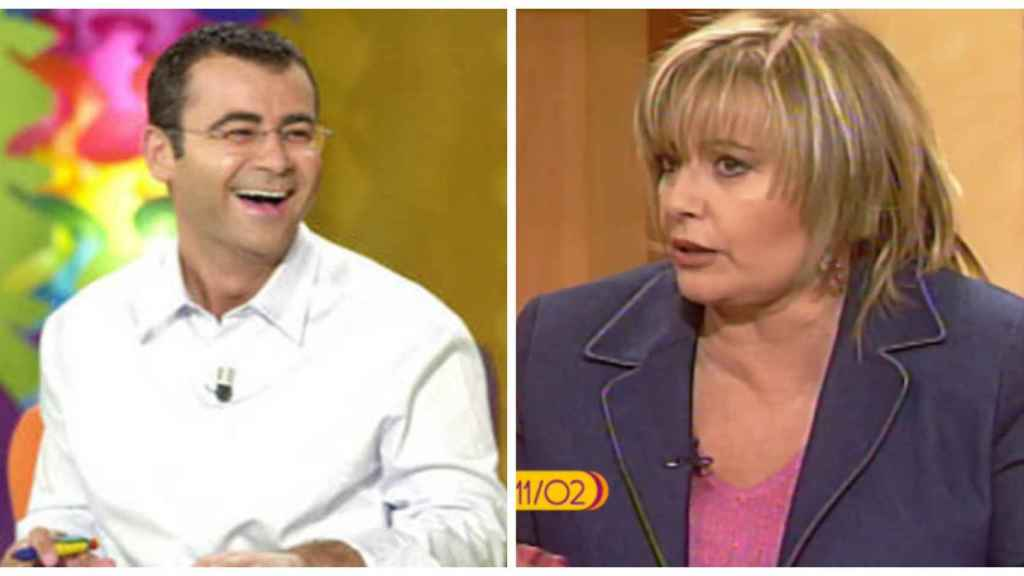 Jorge Javier Vázquez y María Teresa Campos en montaje de JALEOS.