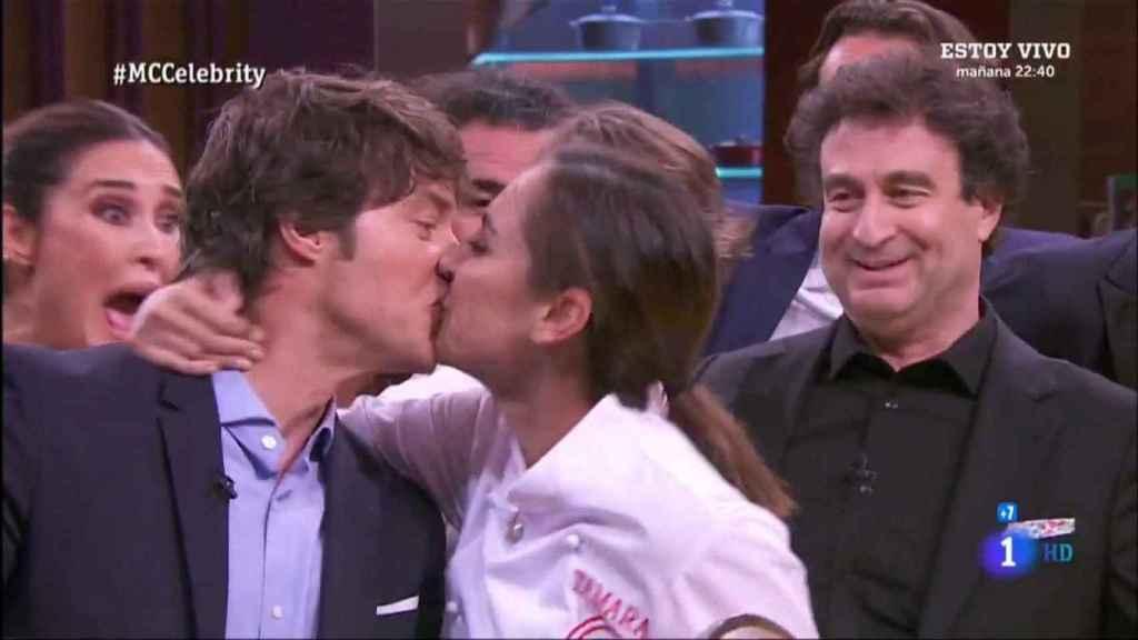 Jordi Cruz y Tamara Falcó protagonizaron románticos momentos en 'Masterchef Celebrity'.