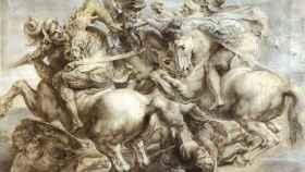 Copia de Pedro Pablo Rubens del boceto de 'La batalla de Anghiari'.