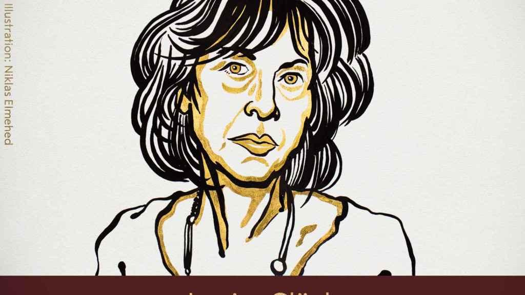 La poeta estadounidense Louise Glück.