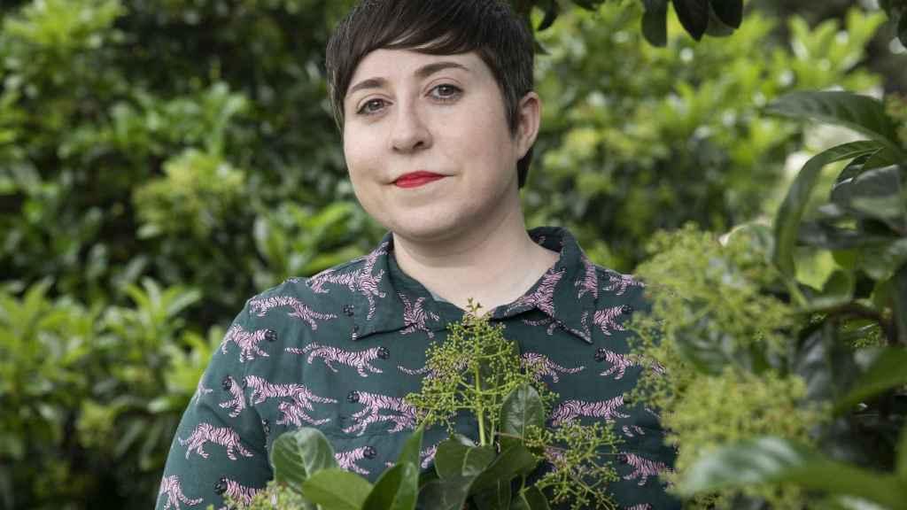 La escritora y poeta Elena Medel.