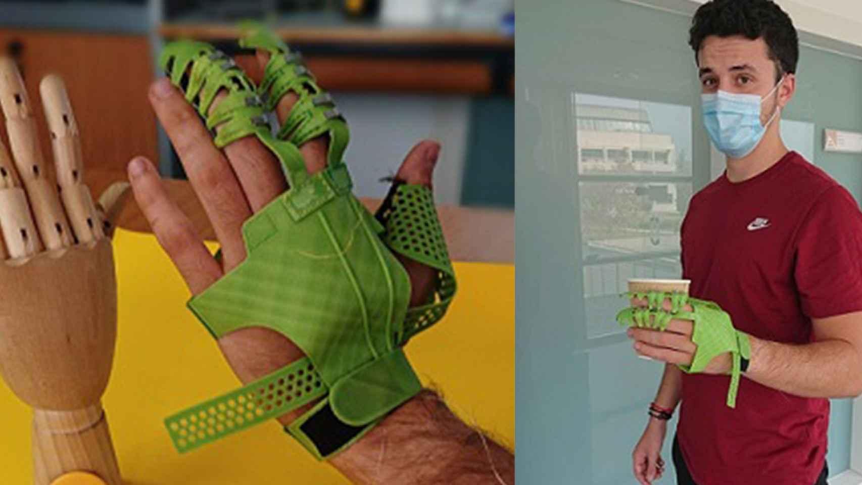 Así es flick, el nuevo 'exoguante' desarrollado en la Universidad de Alicante