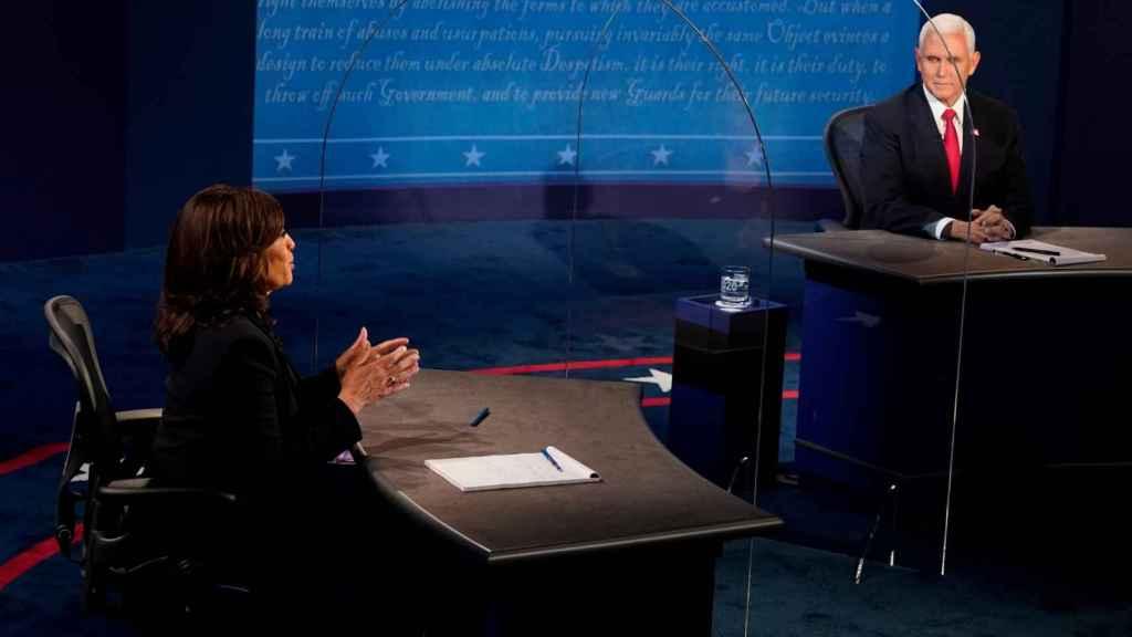 Debate entre Kamala Harris y Mike Pence.