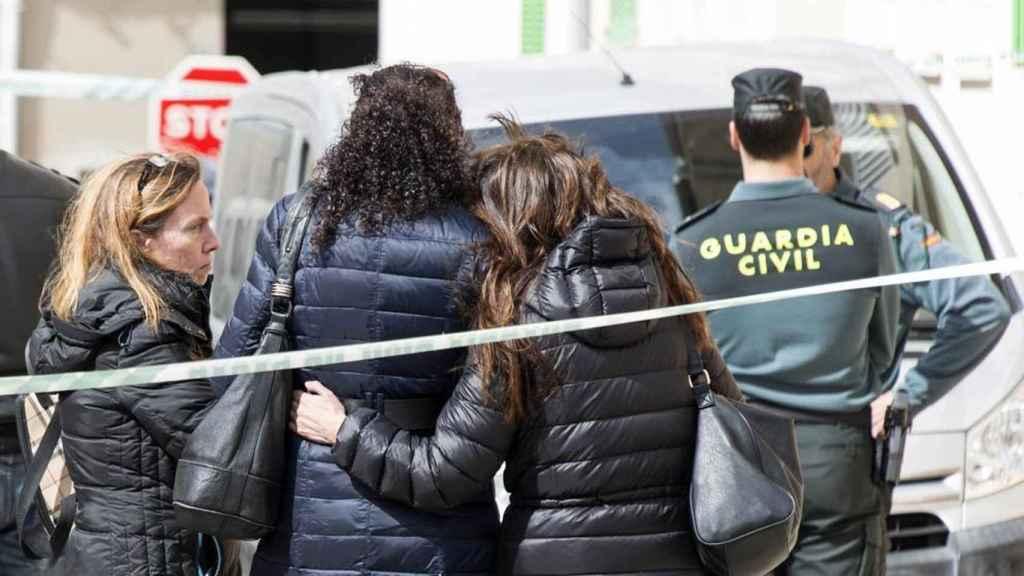 Imagen de archivo de efectivos de la Guardia Civil, en un crimen machista.
