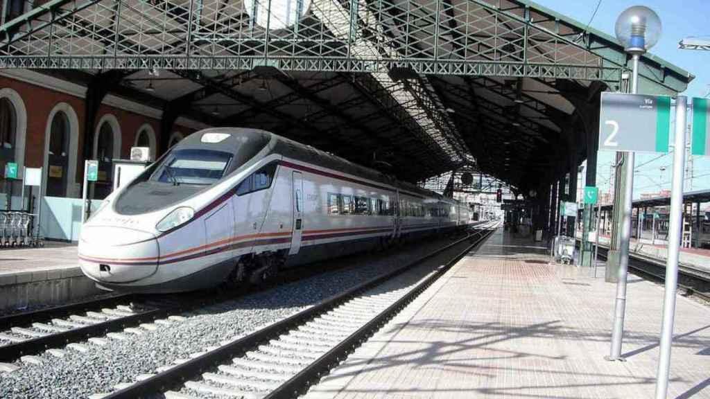 Estación de tren de Valladolid.