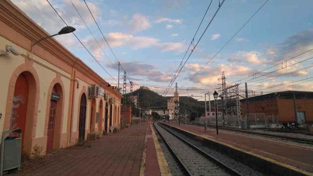 Estación de tren de Jadraque. Foto: Ayuntamiento de Jadraque.
