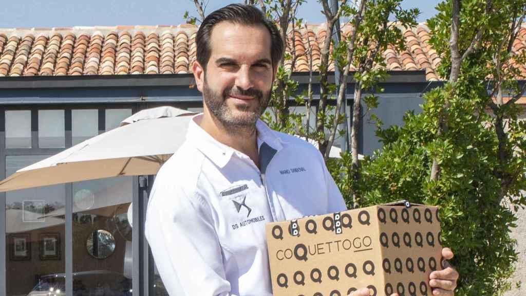 Mario Sandoval ha creado recientemente CoquettoGo, la línea de reparto a domicilio.
