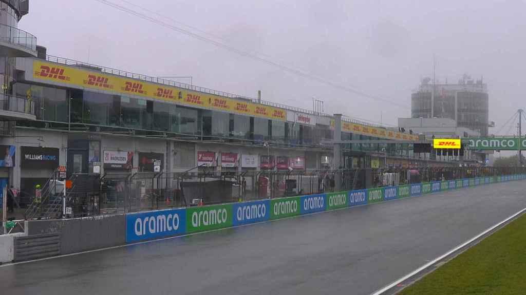 El circuito de Nurburgring con visibilidad reducida