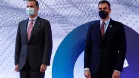 Felipe VI y Pedro Sánchez en la primera edición de la Barcelona New Economy Week-Bnew.