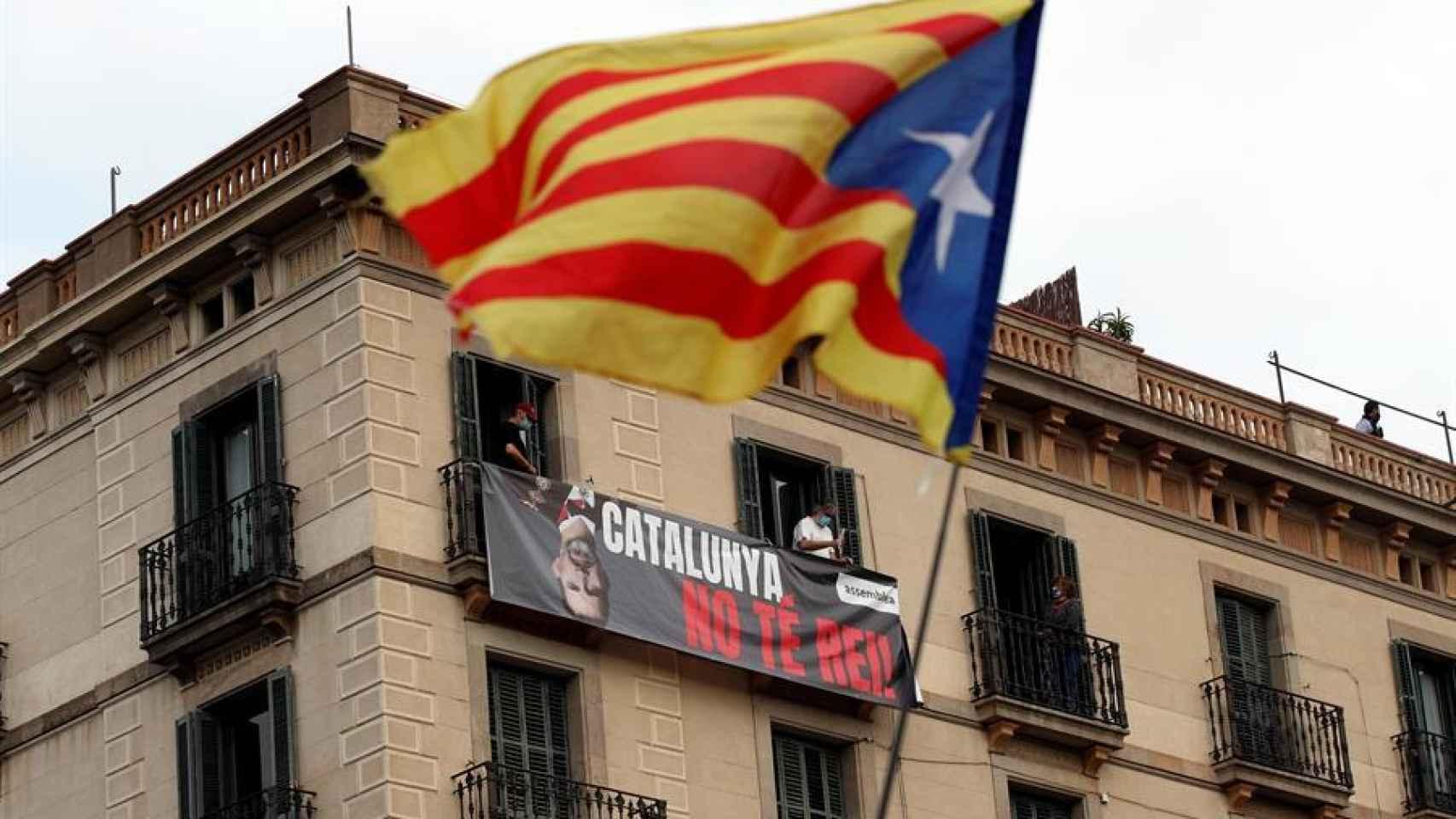 Las protestas en Cataluña por el viaje del Rey