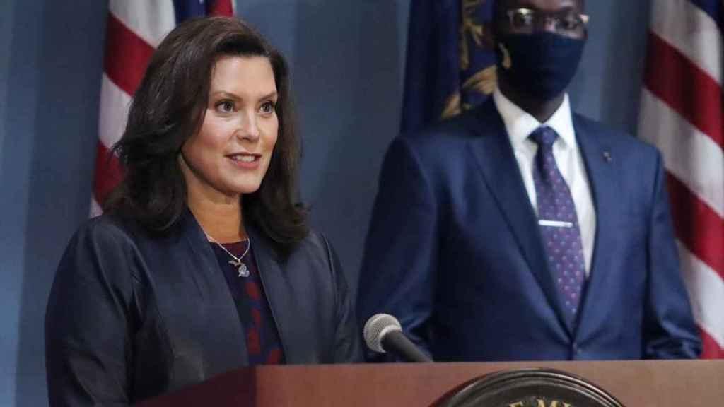 La gobernadora Gretchen Whitmer.