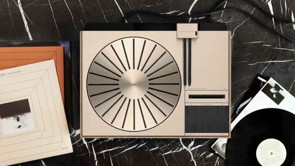 El nuevo tocadiscos Beogram 4000c restaurado