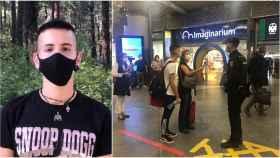 Escaparon del cerrojazo de Madrid: Lucas se ha saltado clases para poder ir a su pueblo