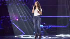 Mireia Ortiz en 'La Voz' (Antena3.com)