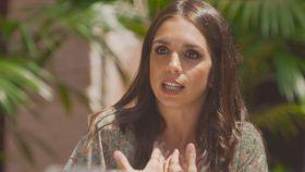 Elena Furiase durante el programa 'Mi casa es la tuya'.