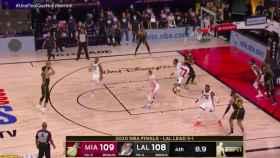 El fallo de Danny Green con los Lakers en las Finales de la NBA