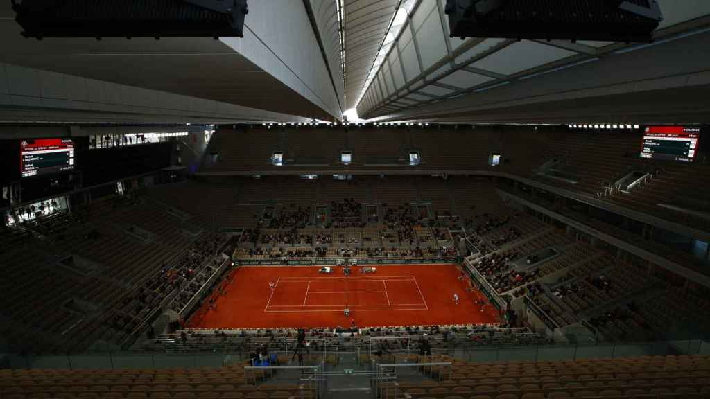 La Philippe Chatrier en la final de Roland Garros 2020