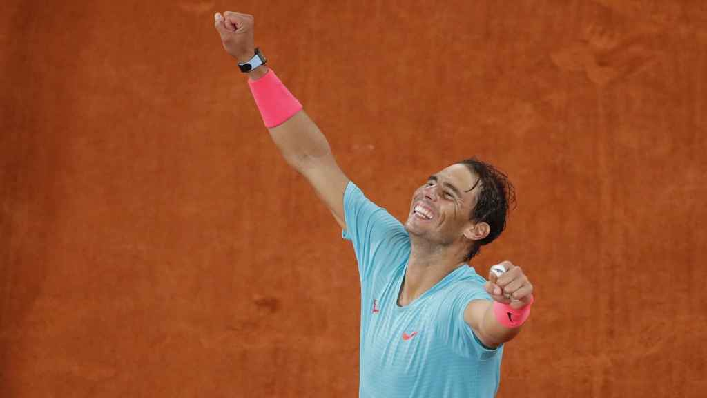 Rafa Nadal, en la final de Roland Garros 2020