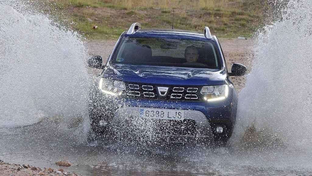 El Dacia Duster puede funcionar con combustible GLP o con gasolina.
