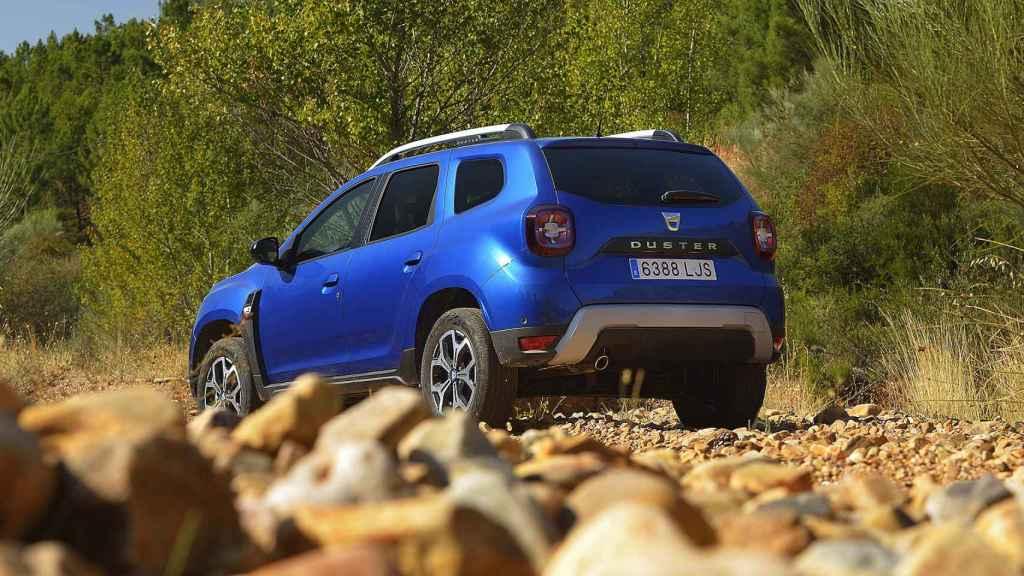 Con sus 4,34 metros el Dacia Duster es un SUV de tamaño contenido.