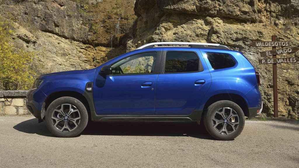 El Dacia Duster va por su segunda generación y mantiene la plataforma del primer Duster.