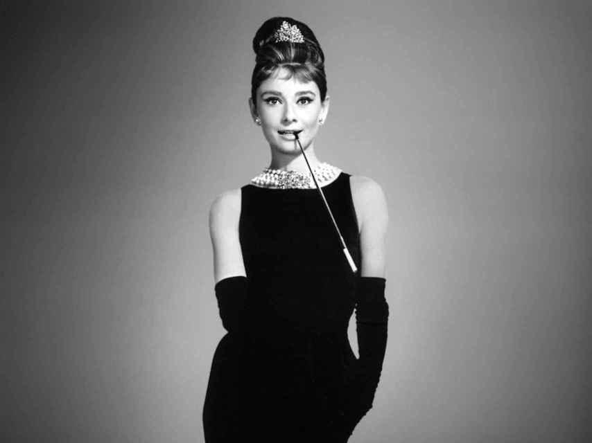 Audry Hepburn en 'Desayuno con diamantes'.