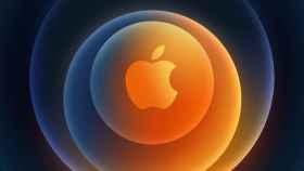 Logo de Apple para la Keynote.