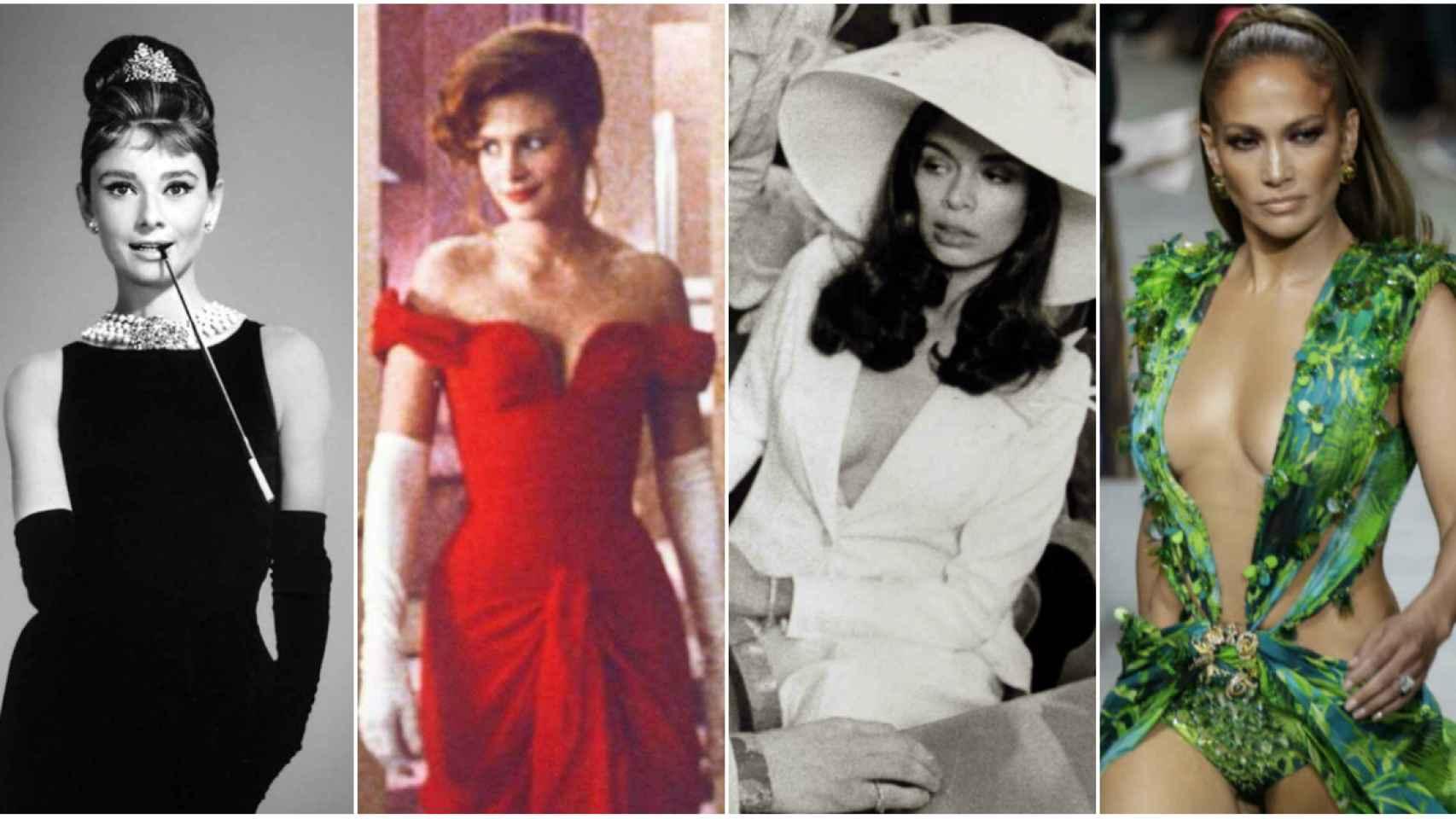 Cuatro de los vestidos más icónicos de la historia en montaje de JALEOS.