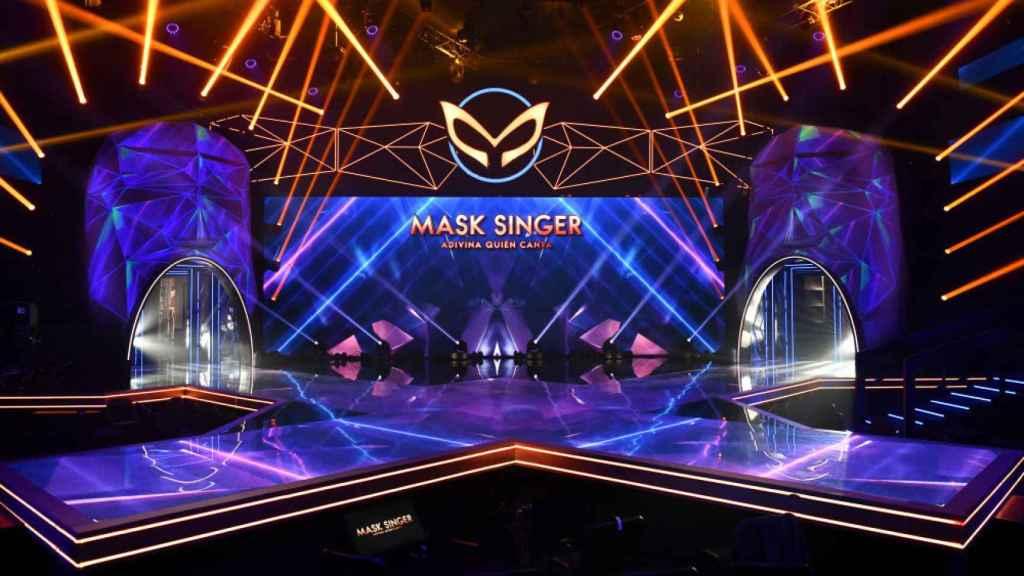 La cadena ha mostrado el espectacular plató del programa.