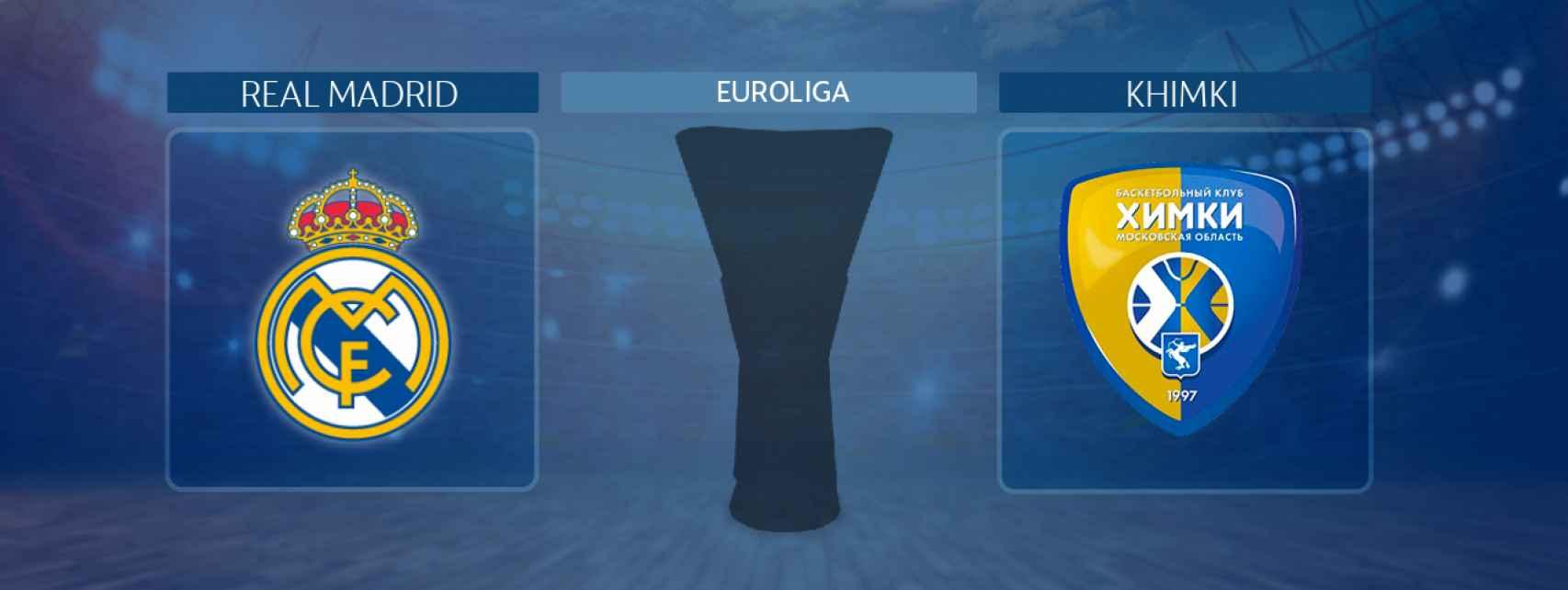 Real Madrid - Khimki, partido de la Euroliga