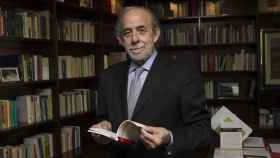 Fernando Valdés, en su despacho del Tribunal Constitucional./