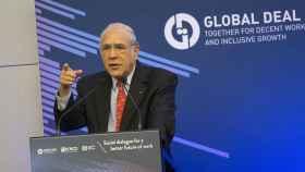 Secretario general de la OCDE, Ángel Gurría, en una imagen de archivo.