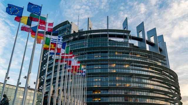 La sede del Parlamento Europeo en Estrasburgo.