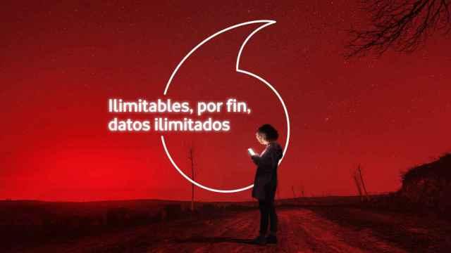 Campaña publicitaria de Vodafone, en una imagen de archivo.