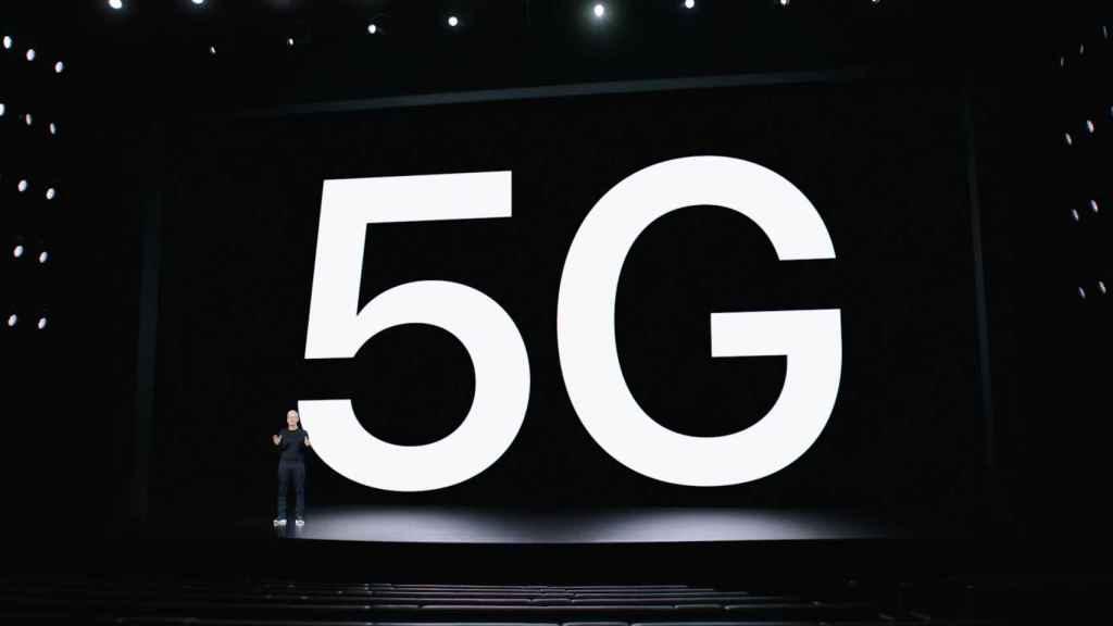 El 5G tuvo gran importancia en la presentación del iPhone 12