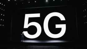 Imagen de la presentación del iPhone 5G, lanzado esta semana.