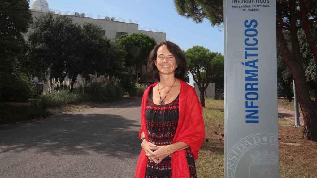 Concha Bielza, catedrática de Estadística e Investigación Operativa en el Departamento de Inteligencia Artificial de la Universidad Politécnica de Madrid .