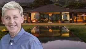 Ellen DeGeneres en montaje de JALEOS.