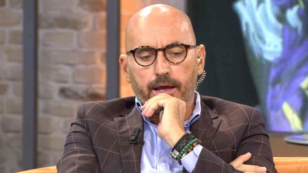 Diego Arrabal, en un plató de televisión.