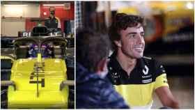 Fernando Alonso se vuelve a subir a un Fórmula 1