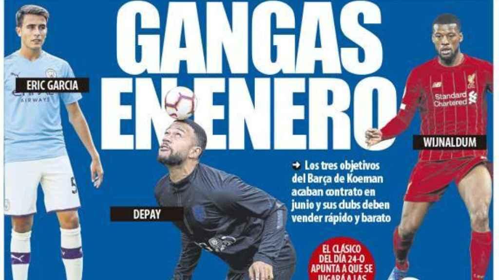 Portada Mundo Deportivo (13/10/20)