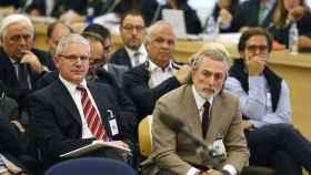 Imagen del juicio del caso Gürtel en la Audiencia Nacional./
