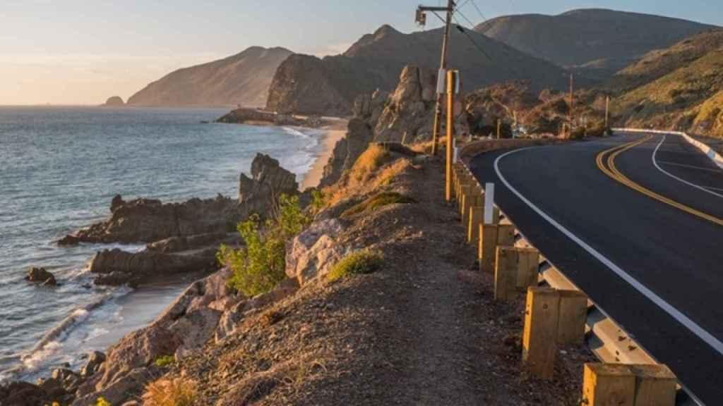Autopista de la costa del Pacífico