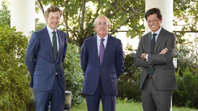 Alejandro Sarrate (MCH), Javier Dorado (JPMorgan AM) y Tasio Castaño (MCH).
