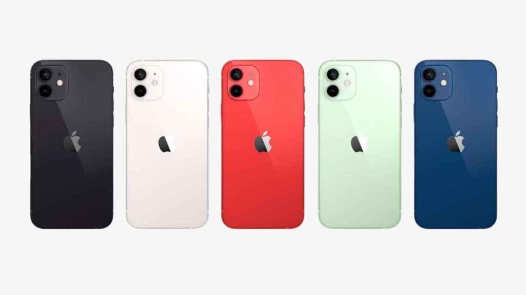 Colores del iPhone 12
