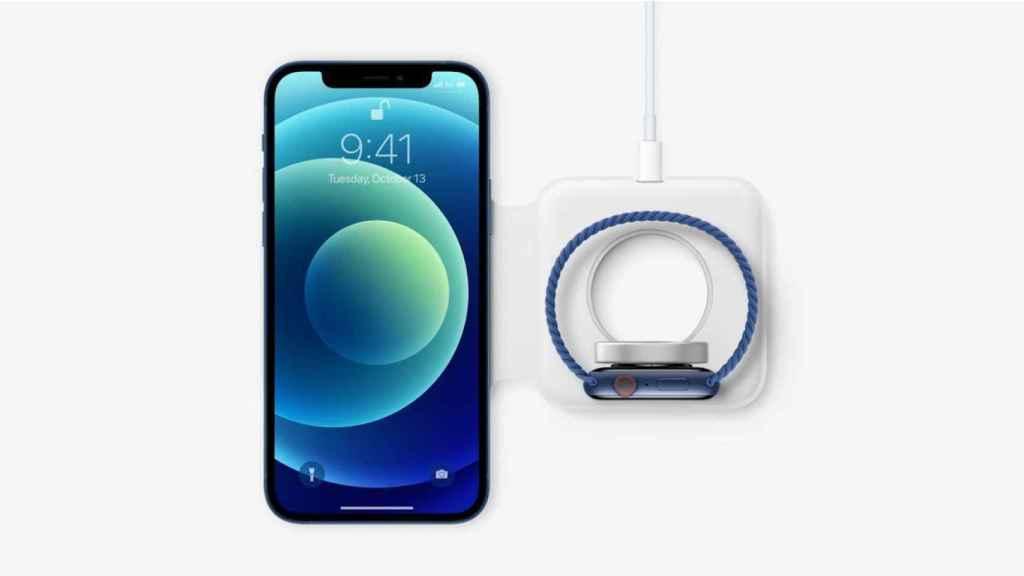 Nuevo cargador inalámbrico para iPhone y Apple Watch