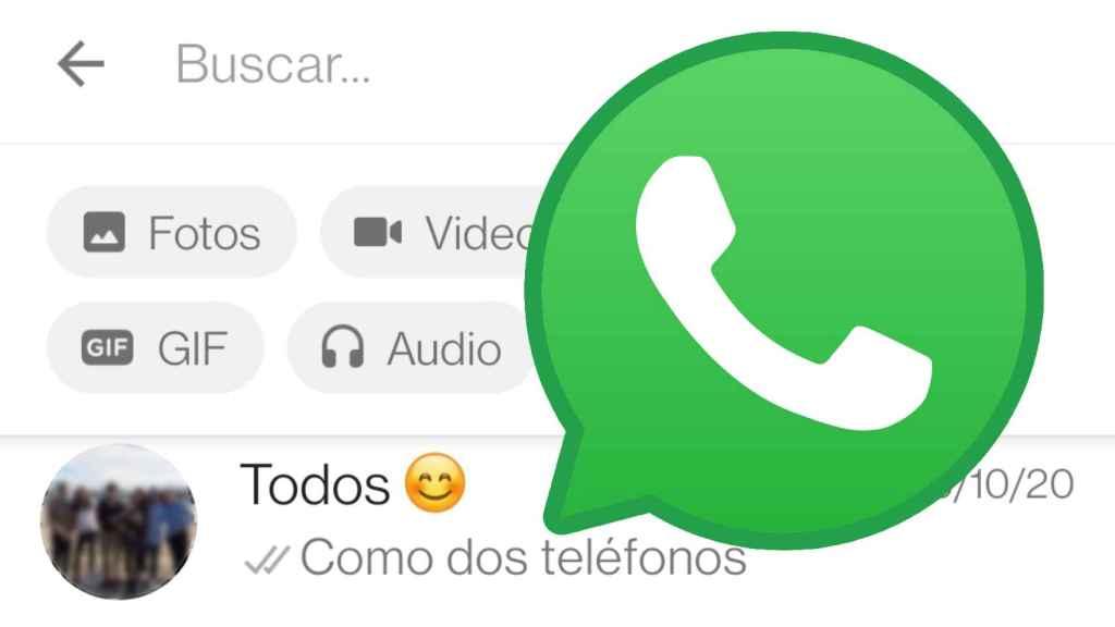 El truco de WhatsApp para encontrar los fotos y enlaces más rápido