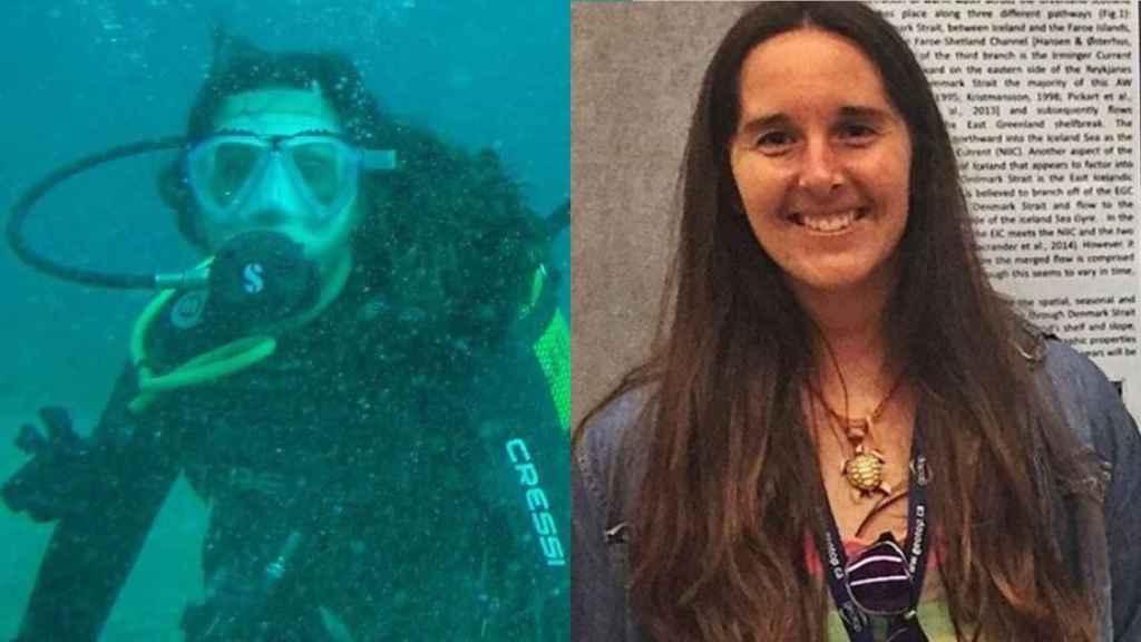 La submarinista fallecida, María Casanova, de 28 años.