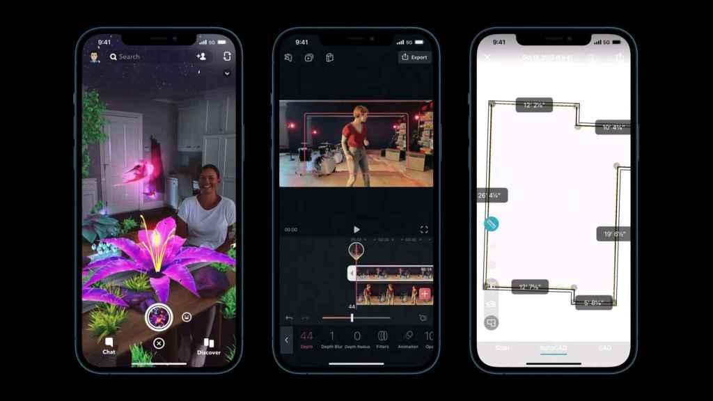 Aplicaciones LiDAR en iPhone
