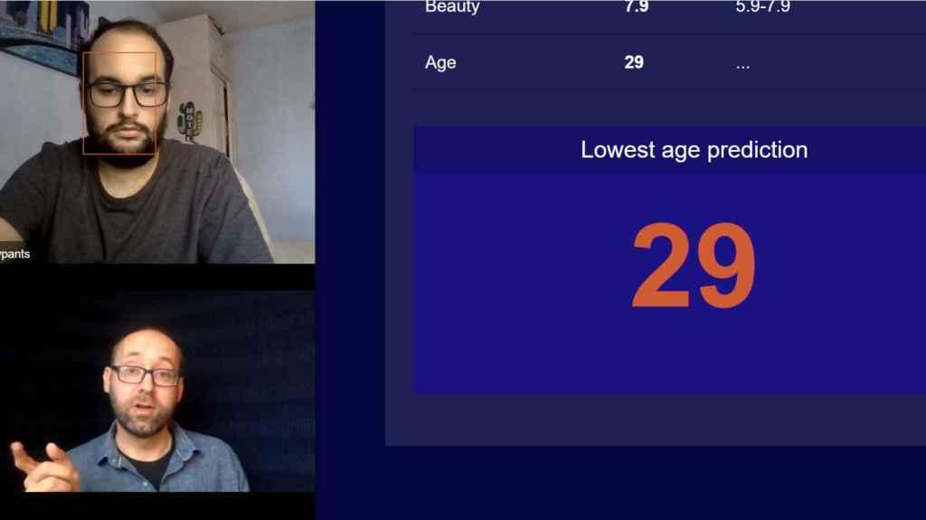 Reconocimiento facial estima la edad